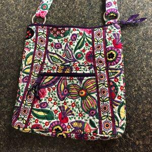 Vera Bradley Viva la Vera floral hipster bag